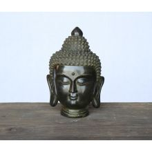 Medium Black Buddha Head