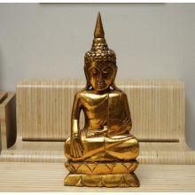 Golden Thai Buddha with Horn