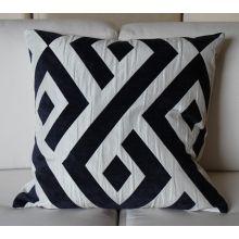 Navy Carat Pillow