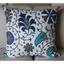 Blue Calypso Pillow