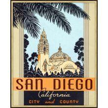 San Diego 25.5W x 31.5H