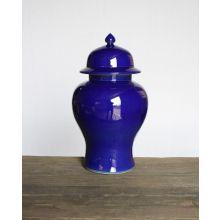 Cobalt Blue Medium Temple Jar